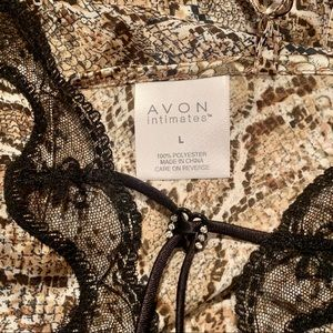 Avon Intimates & Sleepwear - Avon Intimates Snakeskin Print Slip/Lingerie Large